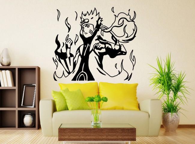Giapponese decorazione della stanza promozione fai spesa for Decoration murale naruto