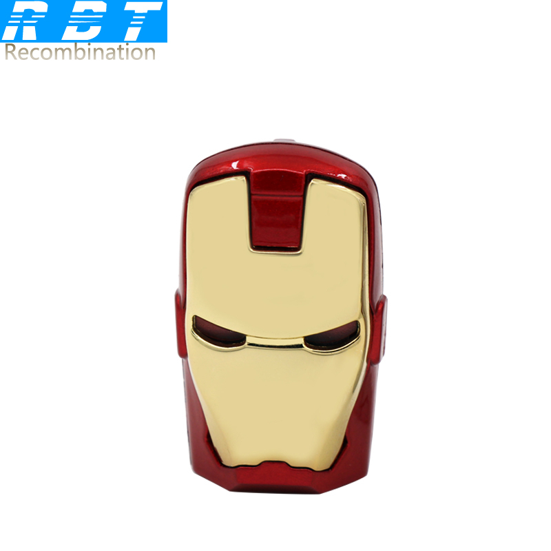 2015 RBT Real Capacity High Speed Hero Iron Man 8GB 16GB 32GB Pen Drive Pendrive USB Flash Drive For PC Free Shipping(China (Mainland))