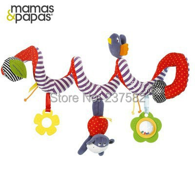 Spiral Activity Stroller Musical Mobile Hanging Car Seat Cot Babyplay Travel Toys Baby Bed Rattles(China (Mainland))