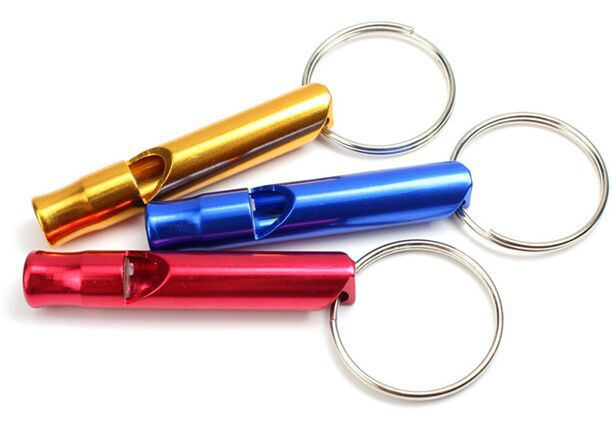 20 PCS survival dog whistle for referee kids Colored metal(China (Mainland))