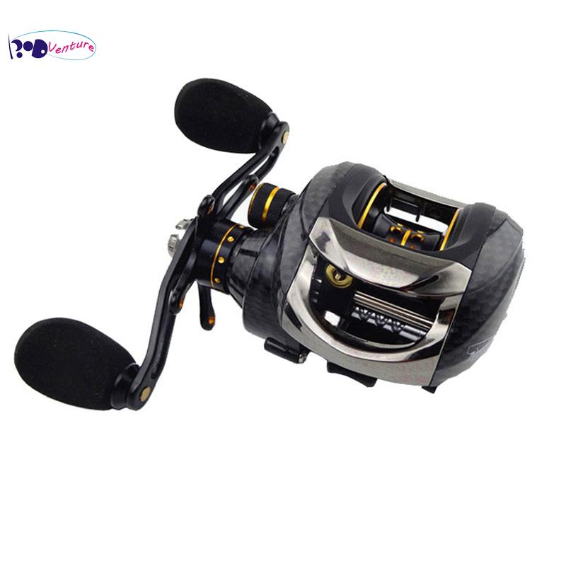 New Venture Brand GT1200 Baitcasting Reel 14 Bearings 6.3:1 Right Left Handed Baitcasting Reels Good Carp Fishing Gear(China (Mainland))