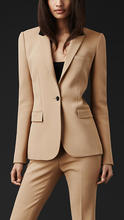 Buy New Custom made Formal Women Suit Office Ladies Business Suit Beige Professional Work Wear Clothes for $82.65 in AliExpress store