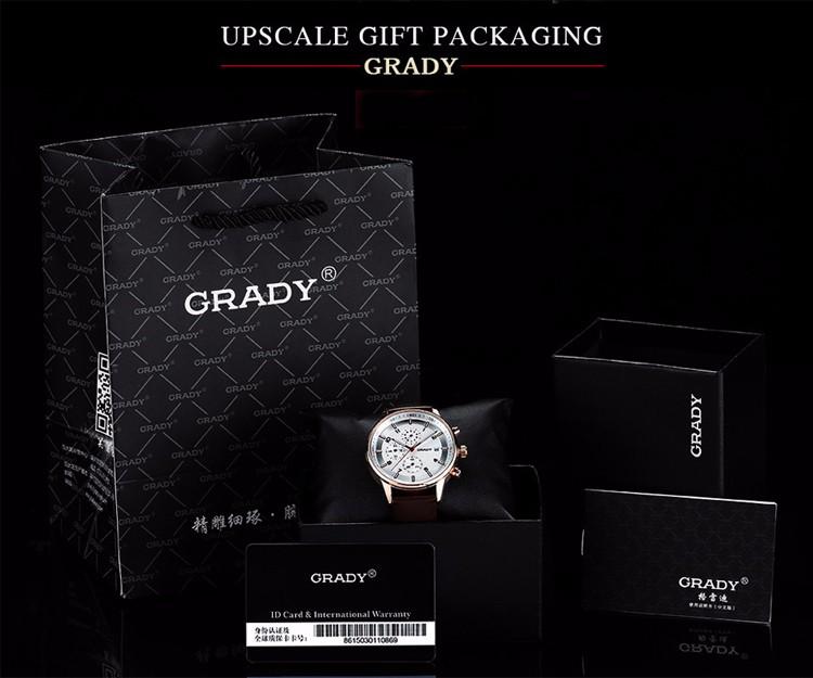 Смешно Рождественский Подарок Грейди Ультра-тонкие керамические часы мужчины черный/белый водонепроницаемый моды краткое мужской часы тенденция кварцевые часы