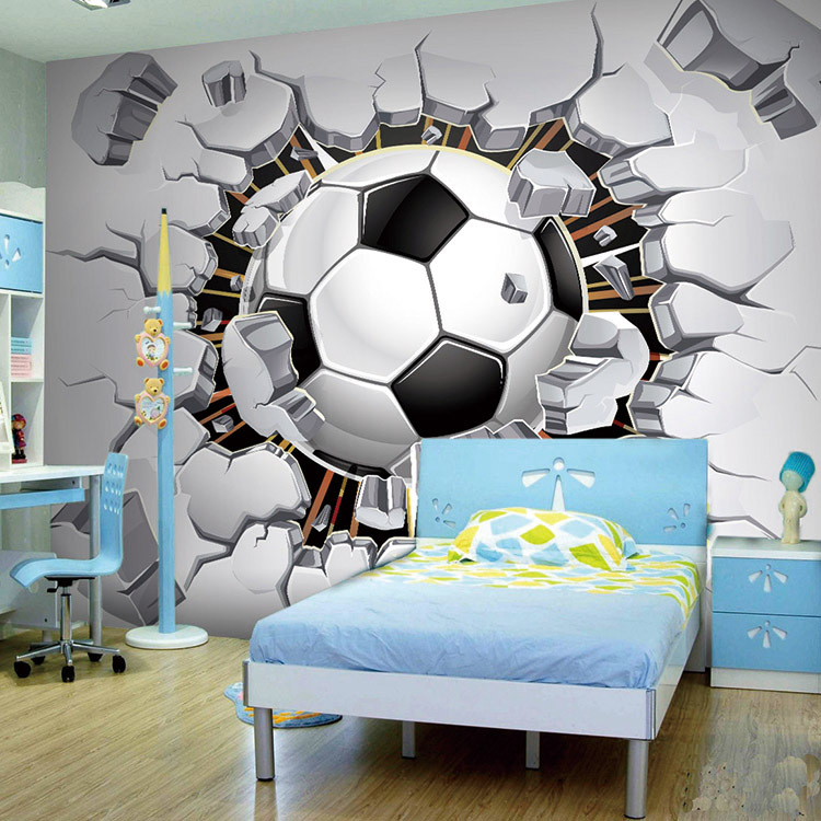 Pin Sports Themed Wallpaper Murals Mural On Pinterest