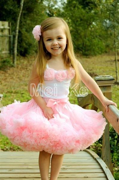 5sets/lot. pink flower top + skirt set,baby Dress, pettiskirt, tutu Dress, Girls Tutu Skirt/FREE SHIPPING SET-04<br><br>Aliexpress