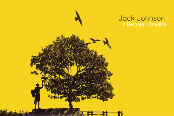 Posters Make You Home Beautiful music trees yellow digital art jack johnson Printed Poster 50X75 CM Popular Room Wall Sticker(China (Mainland))