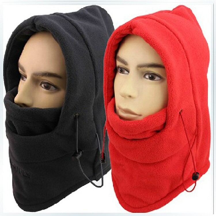 HOT winter hat for men warm fleece hat women protected face mask ski gorros hat CS outdoor riding sport snowboard cap 10colors(China (Mainland))