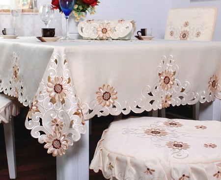 """214# square 130cm/51"""" hot sale waterproof house design tablecloth table mat table cover wholesale(China (Mainland))"""