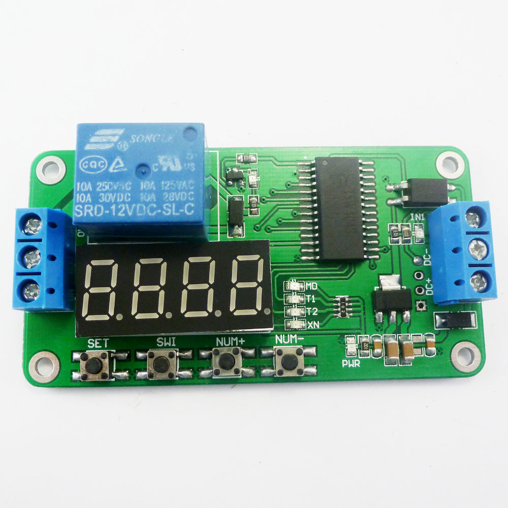 Dc 12v Multifunction Self Lock Relay Plc Cycle Timer Module Delay Does Not Switch Ce030 2