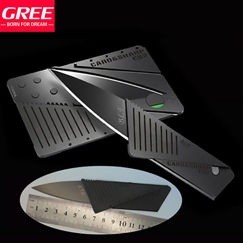 Folding Knife Card Knife Credit Card Multi-Function Stainless Steel Folding Knife Mini Wallet Camping Outdoor Tools Knife(China (Mainland))