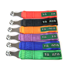 taata tow strap Universal High Quality Racing car tow strap/tow ropes/Hook/Towing Bars (red blue orange black purple green)(China (Mainland))