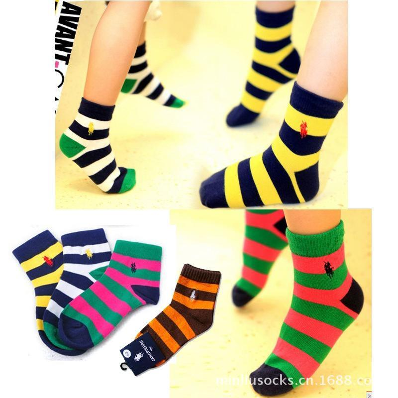 for 3~12 years 3 sizes children warm high quality striped cotton sport polo socks baby socks 1 pairs freeship 3 colors ml0024<br><br>Aliexpress