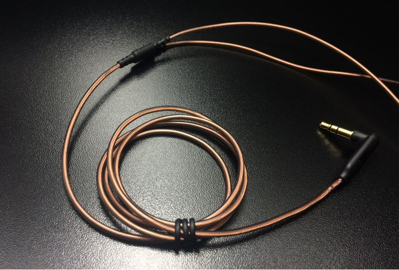 image for 100% High Quality 3.5mm 128 LC-OFC Copper Core ProfessionalDIY Earphon