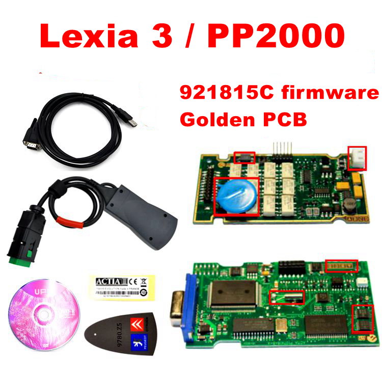2017 Newest Lexia3 with 921815C Firmware lexia PP2000 V48/V25 Lexia 3 Diagbox 7.83 for Citroen for Peugeot Lexia-3 diagnostic(China (Mainland))