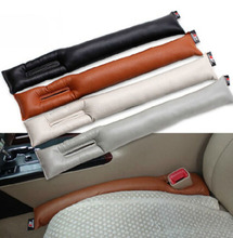 1PC PU LEATHER FRONT CAR SEAT GAP STOPPER LEAK PROOF STOP PAD FILLER SPACER MAT CUSHION COVER CAR ACCESSORIES UNIVERSAL FIT(China (Mainland))