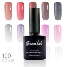 100 Colors Gel Nail Polish UV Gel Polish Long-lasting Soak-off LED UV Gel Color Hot Nail Gel 10ml/Pcs Nail Art Tools-NG3(China (Mainland))