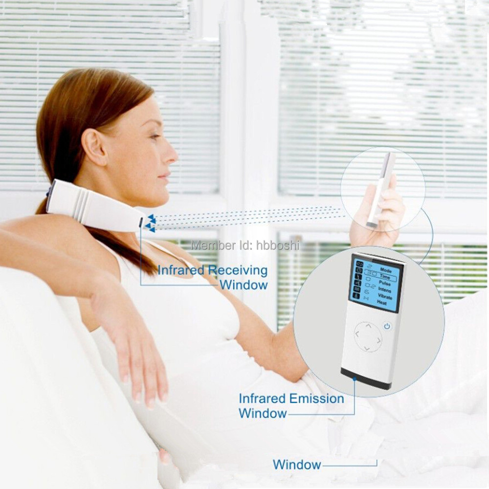 Hot new products for 2015 neck massager battery operated acupunture therapy machine(China (Mainland))
