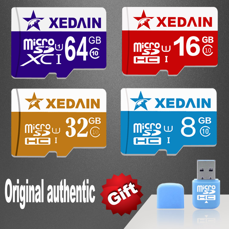XEDAIN3 Free shipping Memory Cards Micro SD microSD card TF Mini SD Card 8GB / 16GB /32GB / 64GB Class 10 mobile phones tablet(China (Mainland))