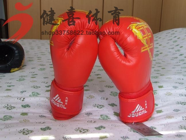 2015 Hot Sale Top Fashion >12 Years 226g (48-67 Kg) Mma Gloves Guantes De Boxeo Fighting Gloves Set Boxing Fight Wrist Support(China (Mainland))