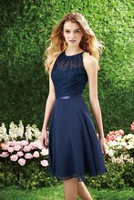 2016 Vestido De Festa Coutry Freeshipping Style Lace Cap Sleeve Bridesmaid Dresses Dark Navy Top Prom Party Gowns New Fashion