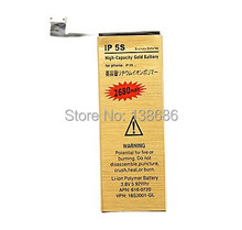 Newest High-Capacity 2680mAh Li-ion Battery for iPhone 5S,Mobile Phone Battery for iPhone 5S,Repair Gold Battery for iPhone 5S