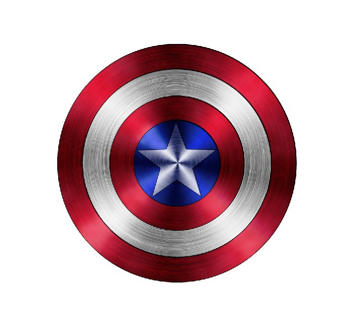 CAPTAIN AMERICA SHIELD Avengers Decal Removable WALL STICKER Home Decor Art Logo(China (Mainland))