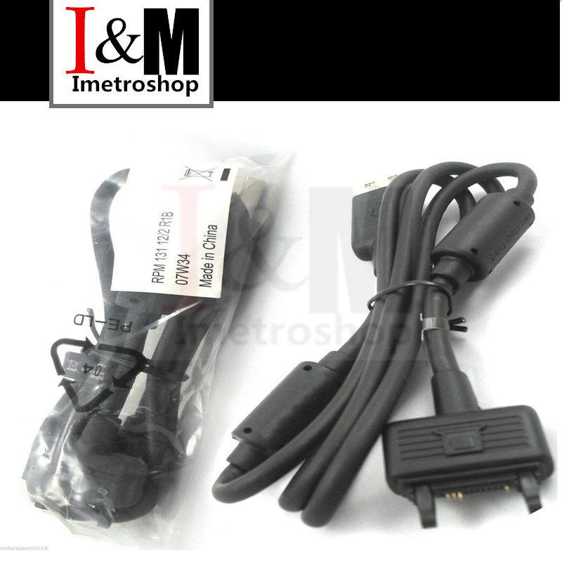 Genuine for Sony Ericsson DCU-65 USB Sync Data Cable K750i K770i K800i K810i K850i(China (Mainland))