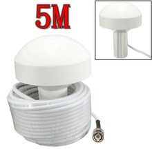 External Marine Boat GPS Receiver Antenna BNC Male Plug Connector 5 Meters(China (Mainland))