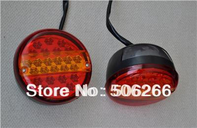 Купить 12/24 VOLT LED REAR LAMP HAMBURGER TAIL LIGHT LAMP SCANIA VOLVO DAF TRUCK TRAILER X2. Автомоб