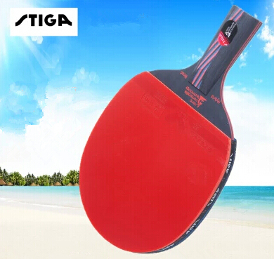 2015 original STIGA carbon 7.6 Carbo 13 layers 7.6 WRB CR senior Blue sponge Table tennis rackets two pimples pimples in rubbers()