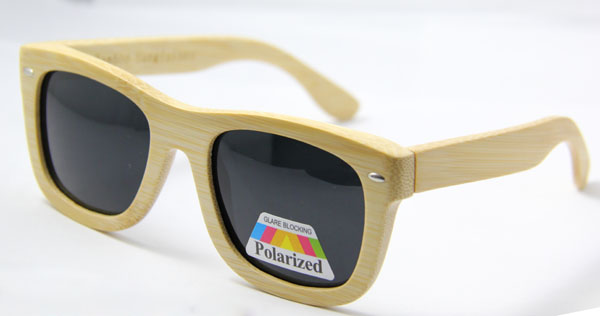 2014 vintage Bamboo&wood sunglasses polarized lens CE.FAD passed. - Fashion No1 eyewear store