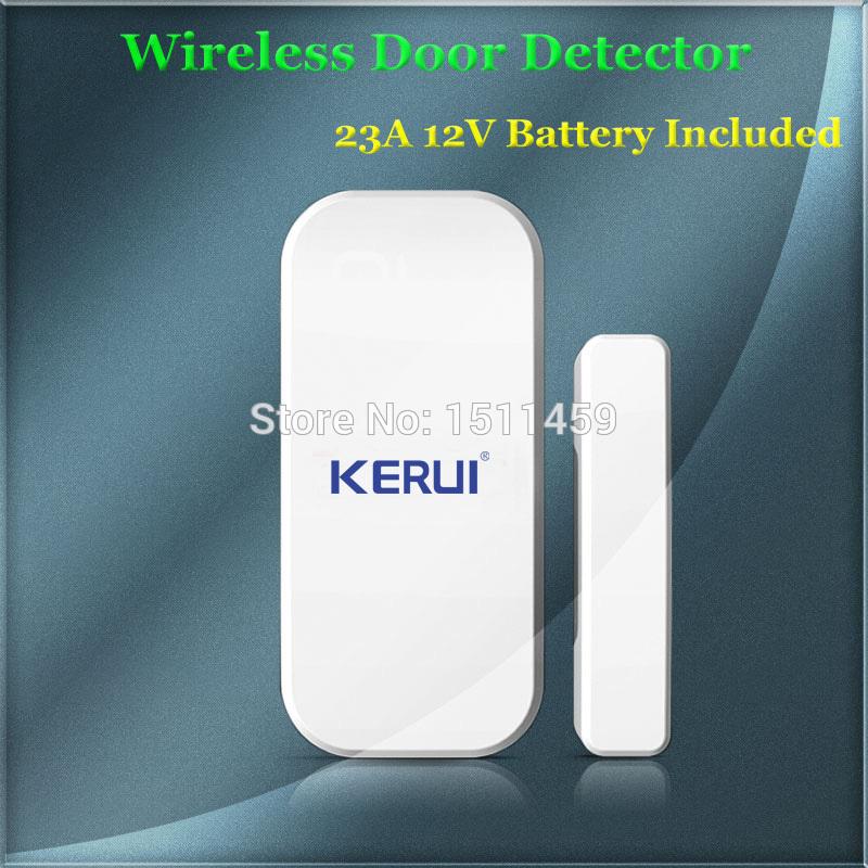 New 433mhz Wireless Door/window Sensor For GSM PSTN Home Alarm System Home Security Voice Burglar Smart Alarm System(China (Mainland))