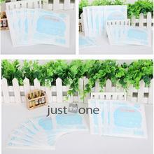 10pcs/lot For Newborn Baby Umbilical Care Sticker Waterproof Stick Navel Paste Hot(China (Mainland))