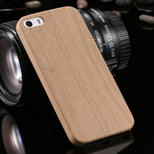5 s Retro Vintage Wood Bamboo Pattern Leather PU Cases for iphone 5 5s Luxury Slim