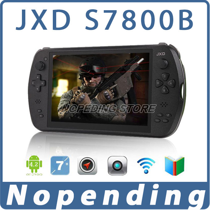 GamePad JXD S7800B Tablet PC Android 4.2 RK3188T Quad Core 7 inch 1280*800 IPS 2GB/16GB Dual Camera Game Player Consoles S7800(China (Mainland))