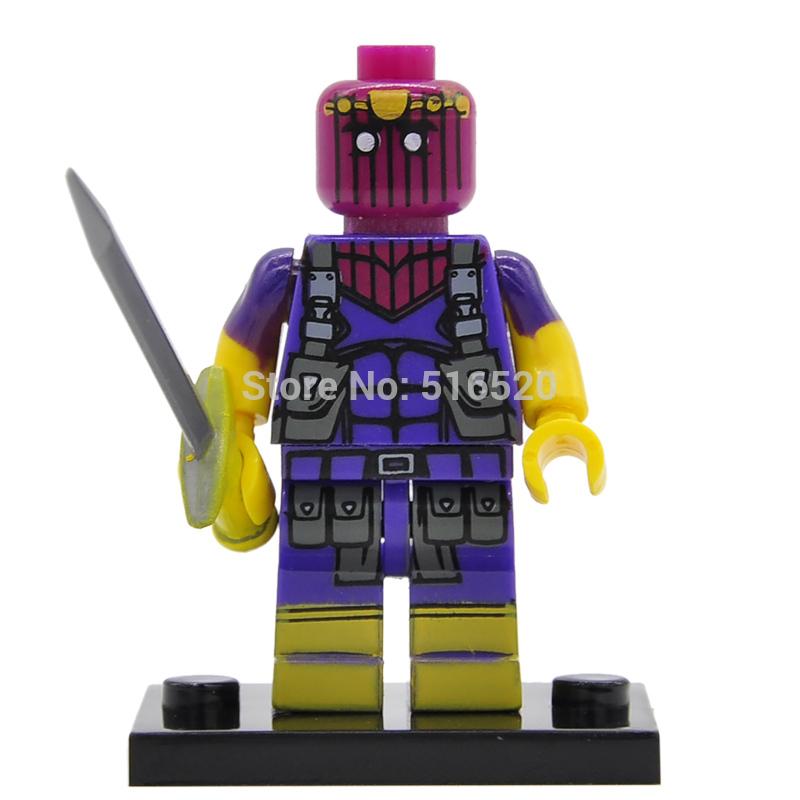 Wholesale Baron Zemo Minifigures Building Blocks 20pcs lot Marvel Super Heroes Sets Models Bricks Mini font