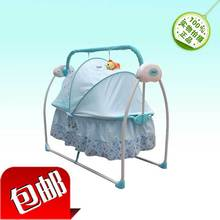 1pcs electric musical baby crib bed the latest style cradle c#h02(China (Mainland))