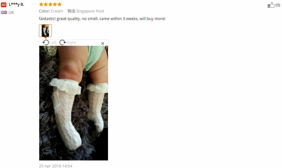 1 пара довольно малыш дети девочка зимой теплый хлопка цветок кружева бантом колен-высокие носки 9 месяцев до 2 лет