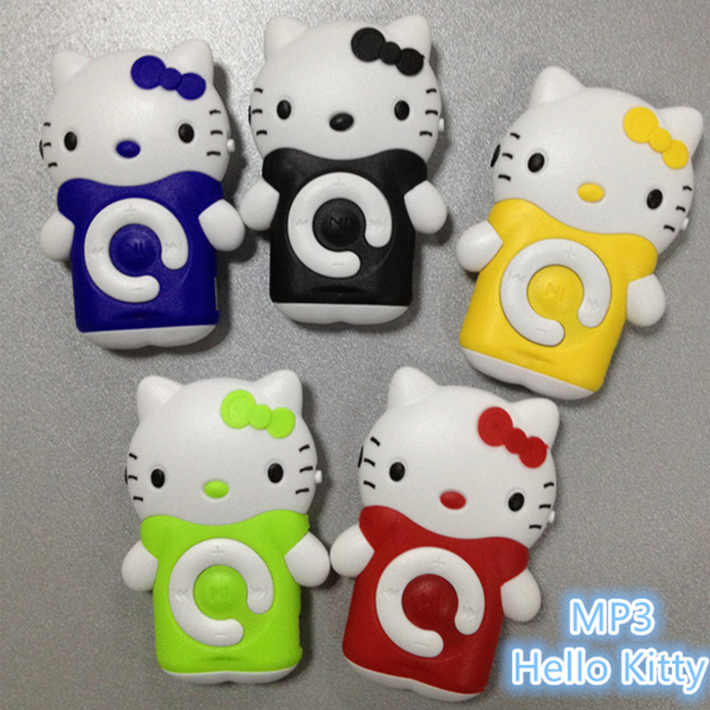 2016 mini mp3 music player hello kitty mp3 tf card free music downloader portable sport mp3 player enjoy music earphone player(China (Mainland))