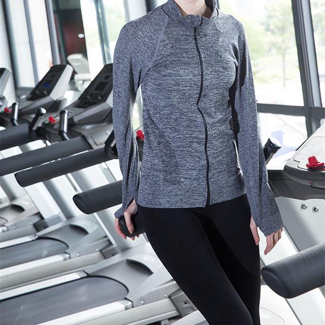 B.BANG женщины спортивная одежда быстрого сухие с длинными рукавами толстовка для ...