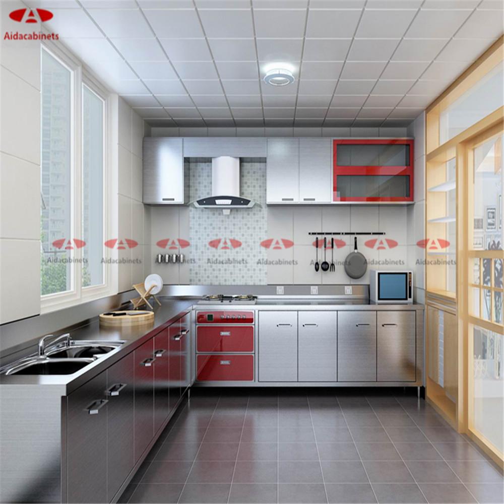 Online kopen wholesale moderne ontwerp keukenkast uit china ...