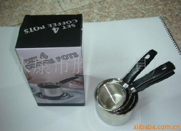 36pcs/lot,stainless steel,Coffee pot