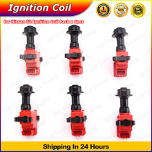 For Nissan Skyline R33 R34 RB25 RB25DET RB26 RB26DET GTS GTR S2 Series 2 Ignition Coil Pack Spark 6pcs(China (Mainland))