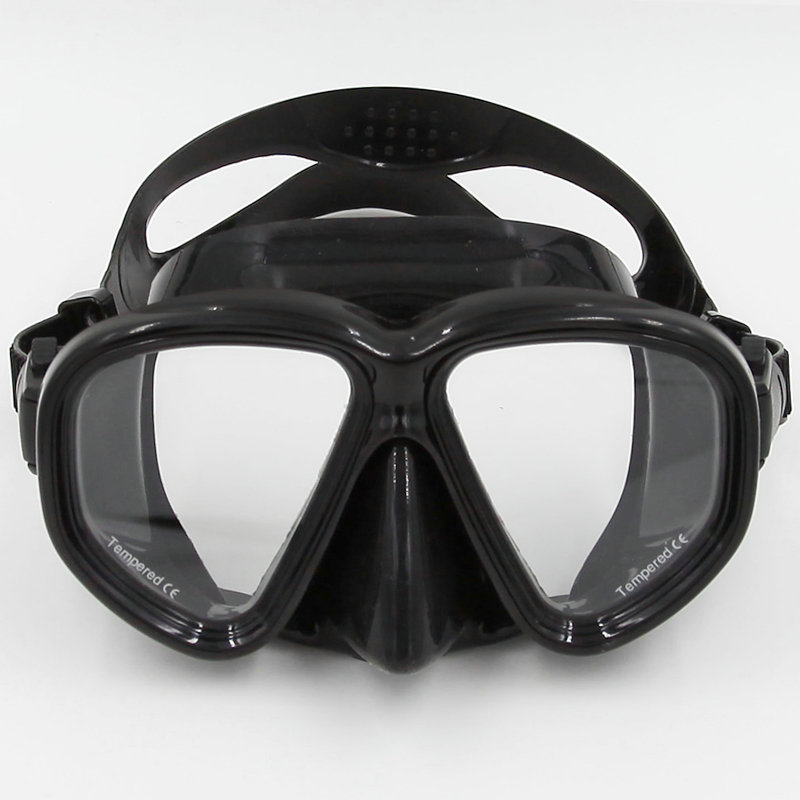 Scuba Diving Mask Goggles Swimming Diving Equipment Toughened Tempered Glass Professional 5 color glass high quality MK-500(China (Mainland))