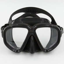 Scuba Diving Mask Goggles Swimming Diving Equipment Toughened Tempered Glass Professional 5 color glass high quality MK-500