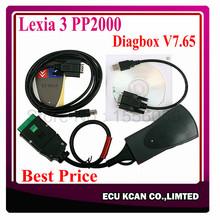 2015 New Lexia 3 PP2000 Lexia 3 Citroen Peugeot Diagnostic Tool Lexia 3 Diagbox 7.65 Lexia3 PP2000 Lexia-3 Free Shipping(China (Mainland))