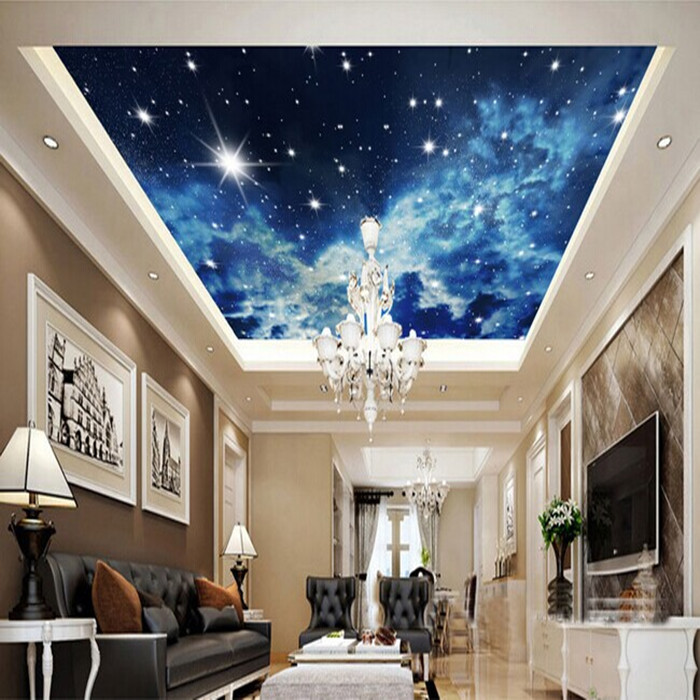 2014 new limited wallpapers cosmic nebula space wallpaper for 3d ceiling paper