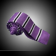 Men Casual Striped Neck Ties 2015 (20 Colors) Slim Business Accessories Knitted Ties J1100(China (Mainland))