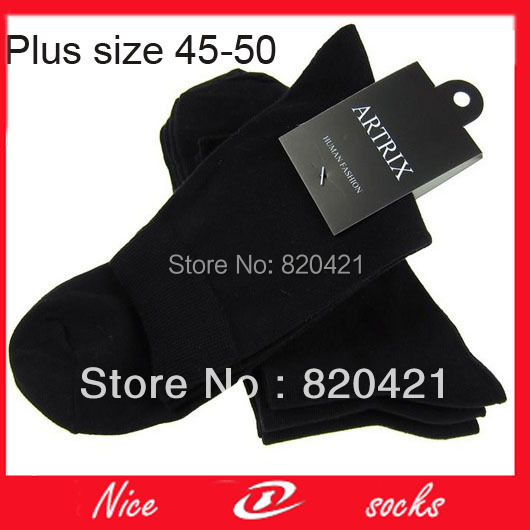 16 pieces=8pairs fashion sock  plus size socks business casual  skateboard socks for halloween mens large socks 44,45,46yard