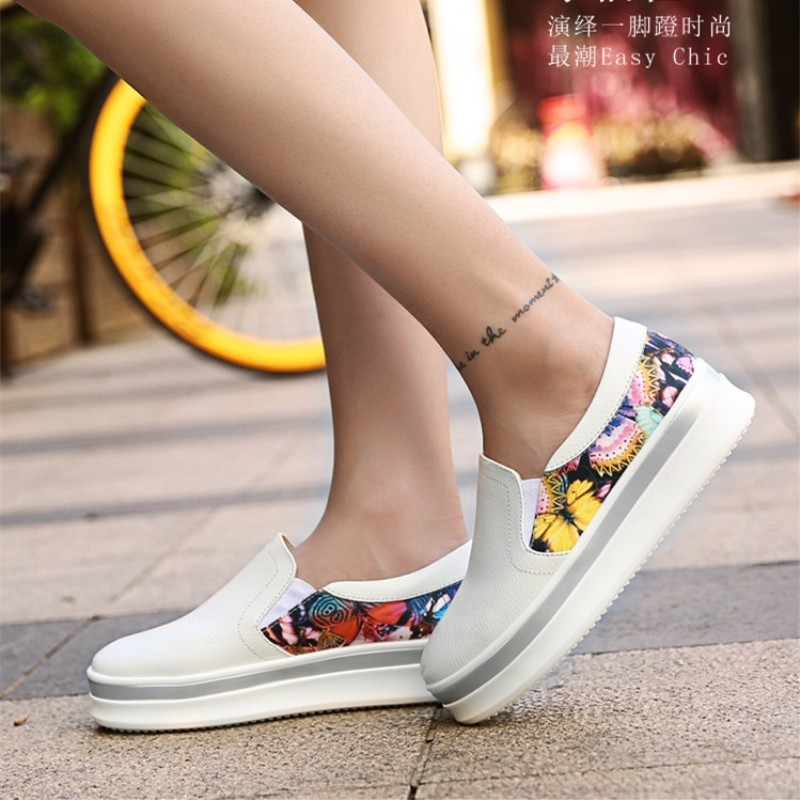 SEANUT Women Loafers 2016 Luxury Brand Womens Shoes Chaussures Femme Platform - YINGLUNQISHI store